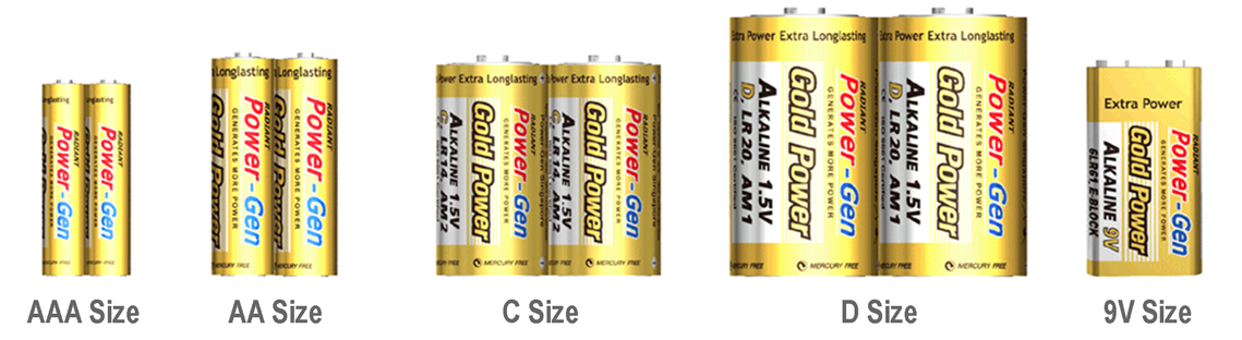 Alkaline Batteries Shrink Wrap